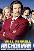 Anchorman: The Legend of Ron Burgundy Movie Poster