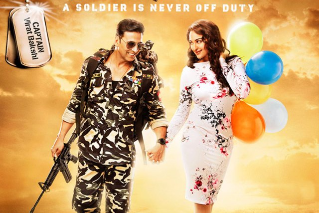 Holiday - A Soldier Is Never Off Duty Movie Poster