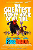 Free Birds Movie Poster