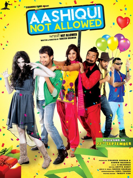 Aashiqui Not Allowed Movie Poster