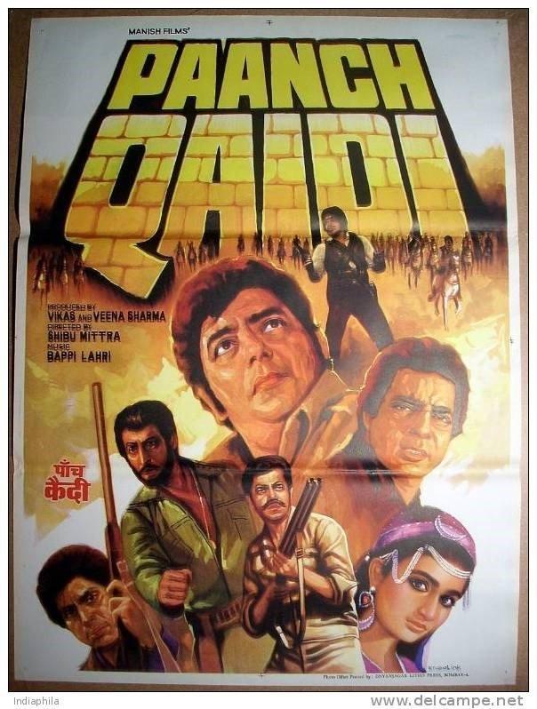 Paanch Qaidi Movie Poster