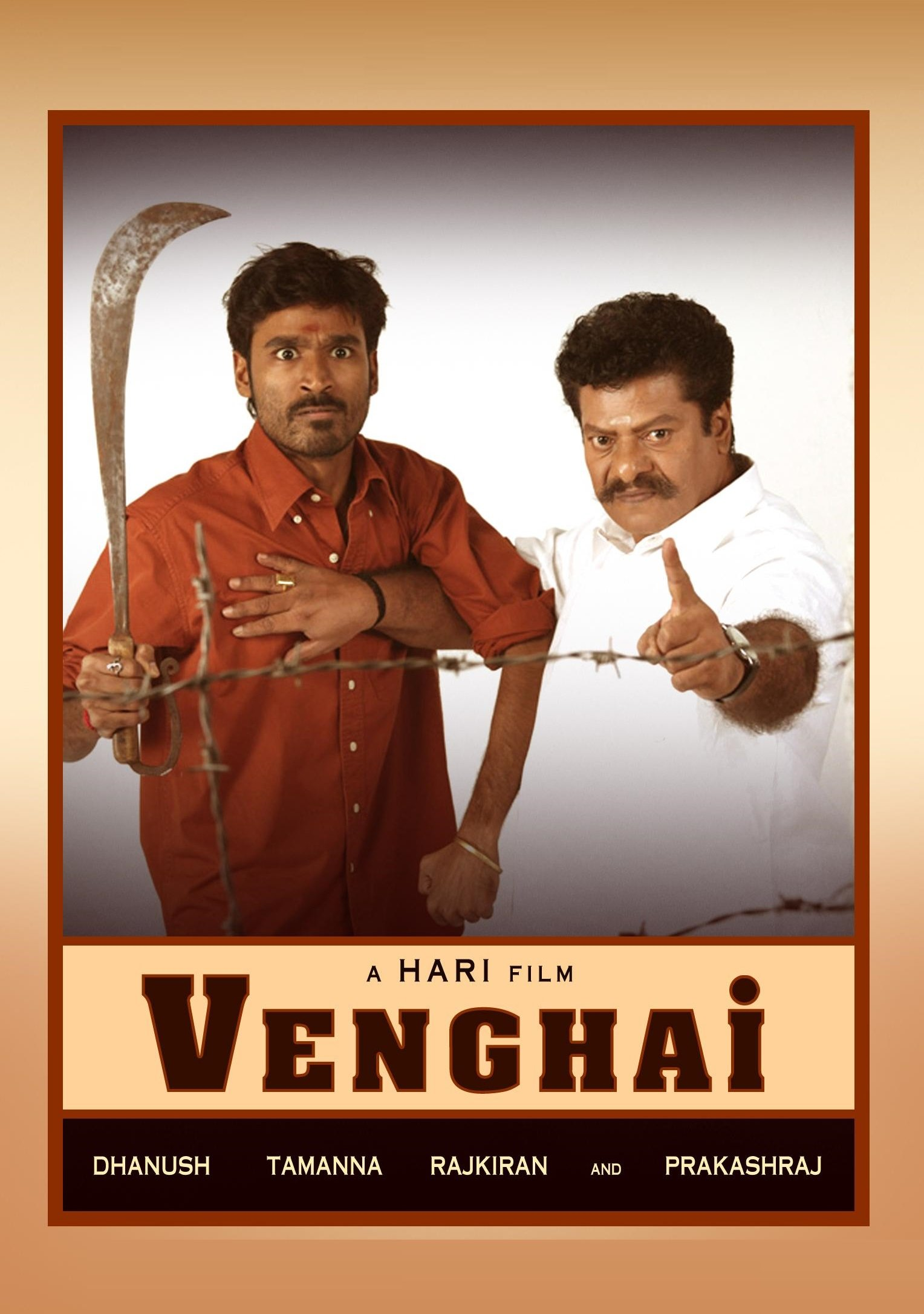 Venghai Movie Poster