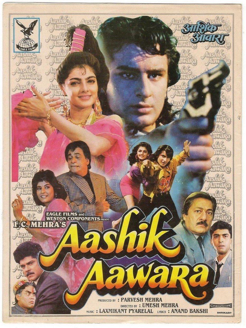 Aashik Aawara Movie Poster