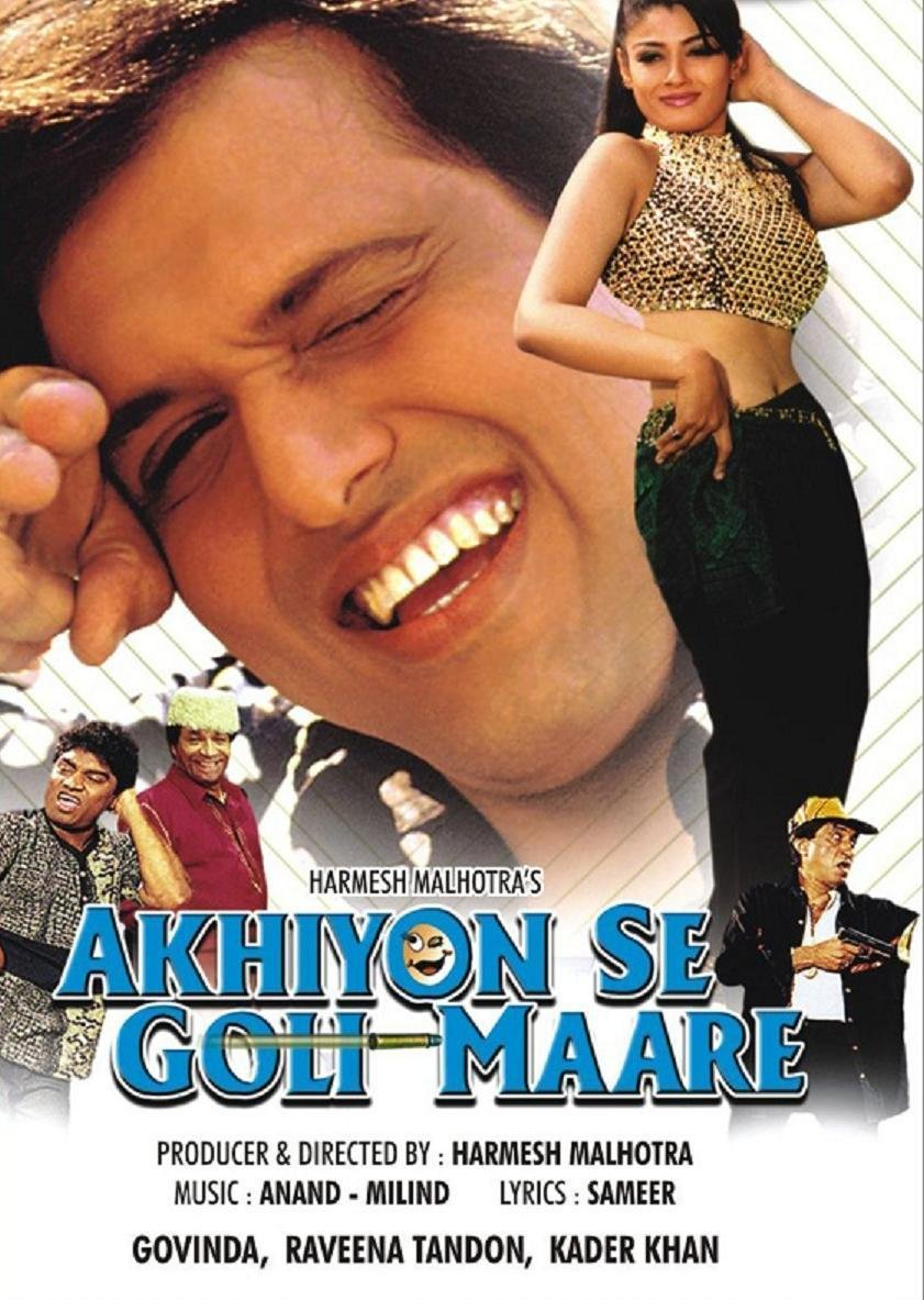 Ankhiyon Se Goli Maare Movie Poster