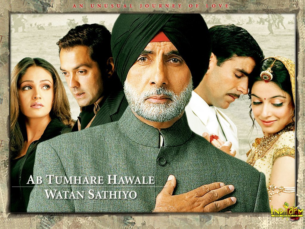 Ab Tumhare Hawale Watan Saathiyo Movie Poster