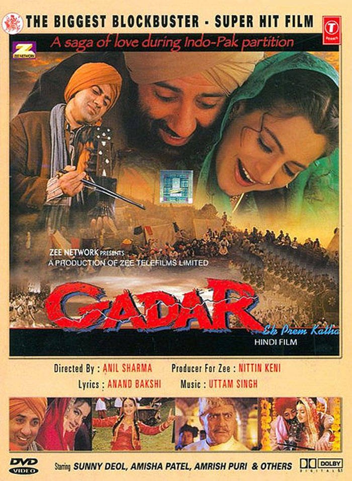 Gadar: Ek Prem Katha Movie Poster