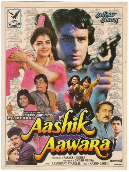 Aaashiq Awara Movie Poster