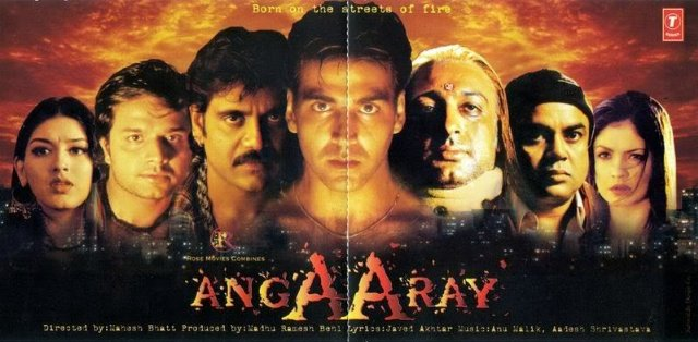 Angaaray Movie Poster