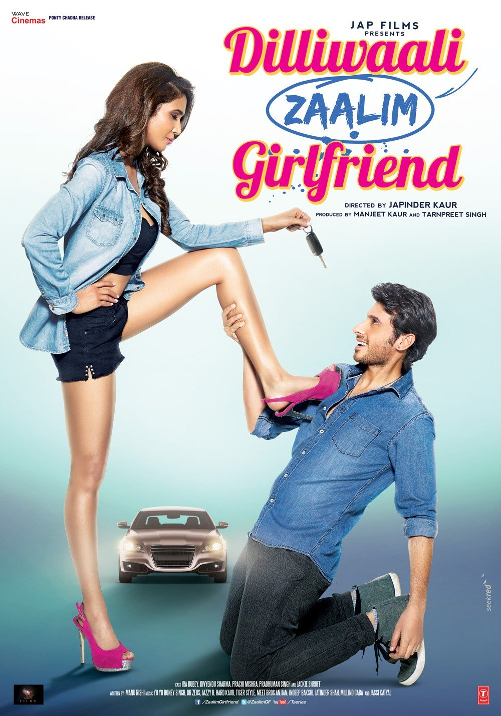 Dilliwaali Zaalim Girlfriend Movie Poster