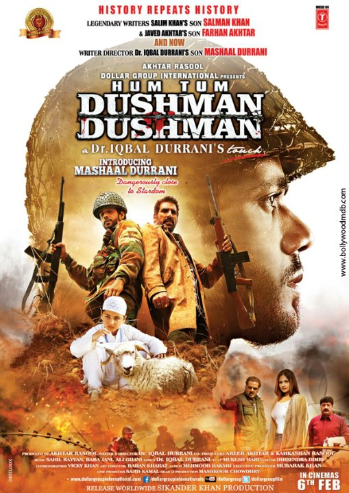 Hum Tum Dushman Dushman Movie Poster