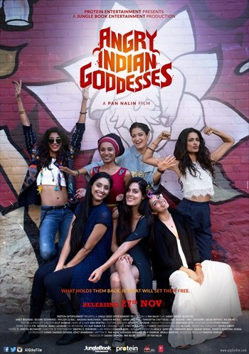 Angry Indian Goddesses Movie Poster