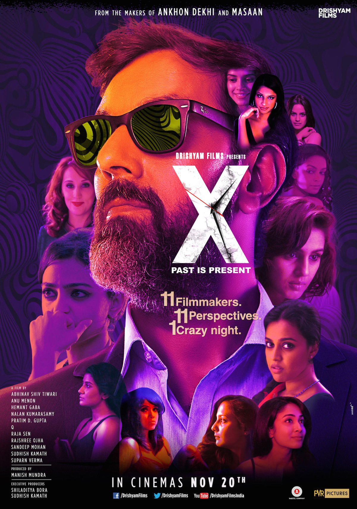 X: Past is Present Movie Poster