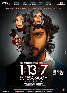 1:13:7 – Ek Tera Saath (2016) First Look Poster