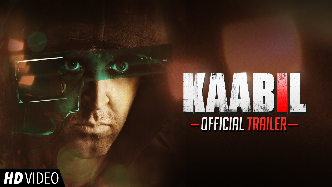 Kaabil (2017) First Look Poster