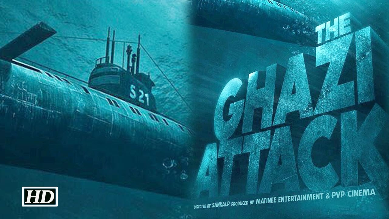The Ghazi Attack (2017) First Look Poster