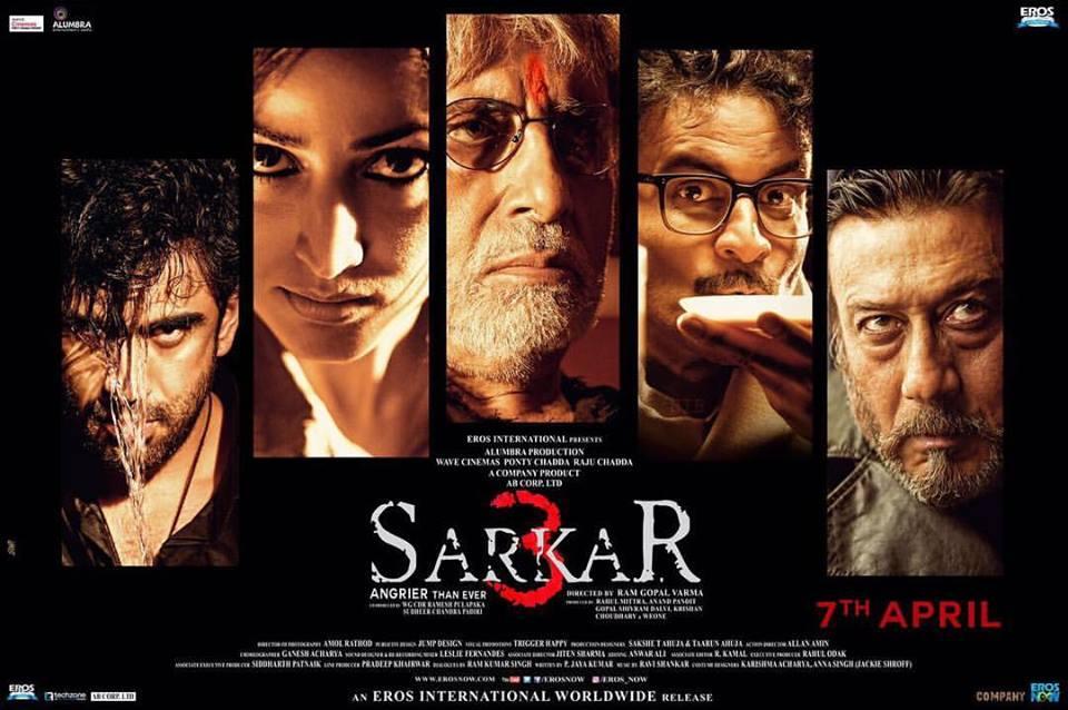 Sarkar 3 (2017) First Look Poster