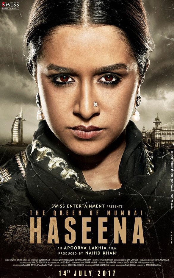 Haseena – The Queen of Mumbai (2017) First Look Poster