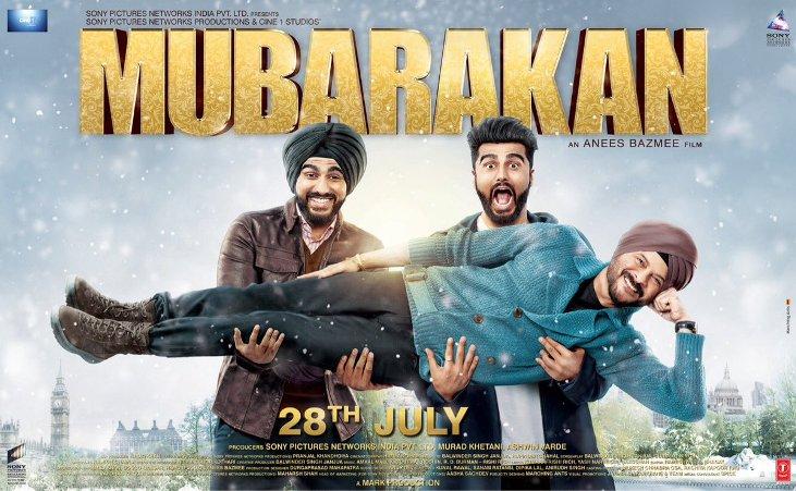 Mubarakan (2017) First Look Poster