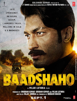 Baadshaho (2017) First Look Poster