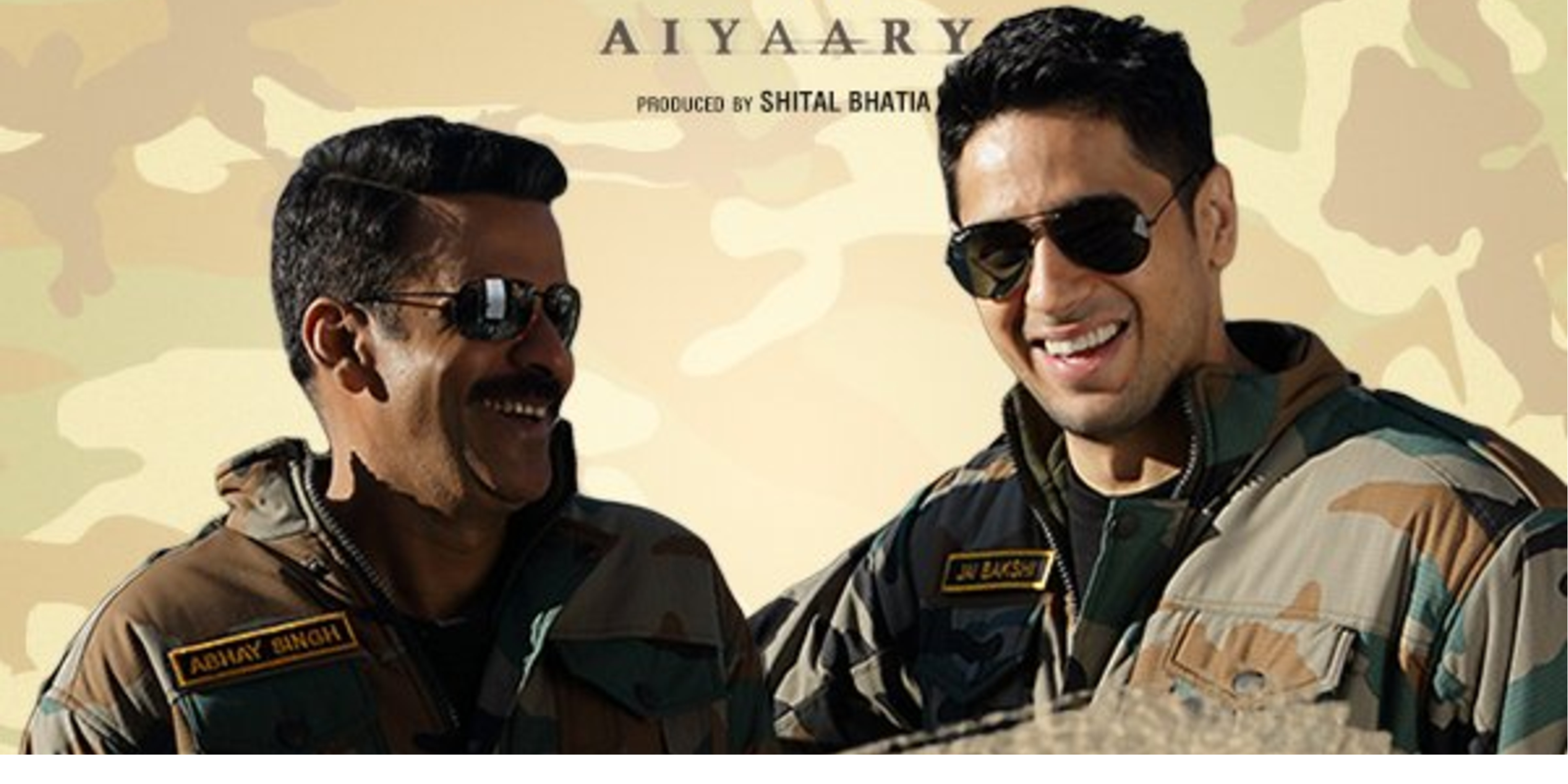 Aiyaary (2018) First Look Poster