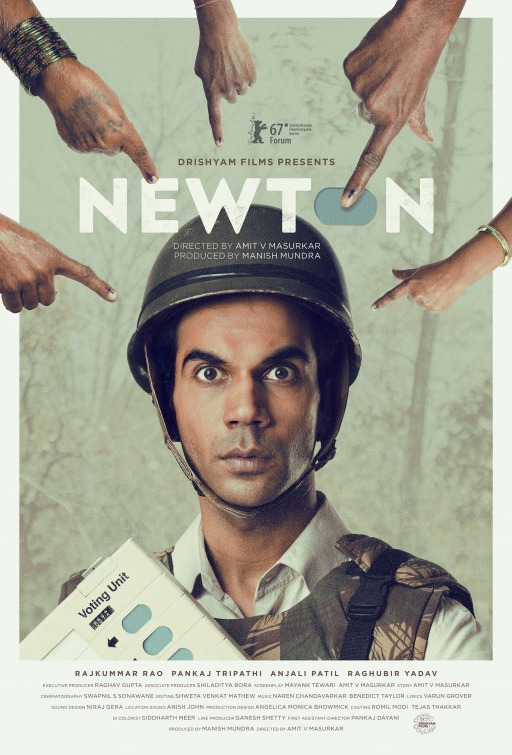 Newton (2017) First Look Poster