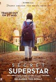 Secret Superstar (2017) First Look Poster