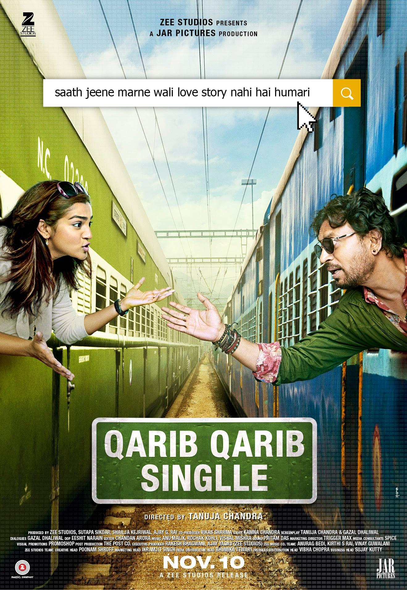 Qarib Qarib Singlle (2017) First Look Poster