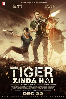 Tiger Zinda Hai (2017) First Look Poster