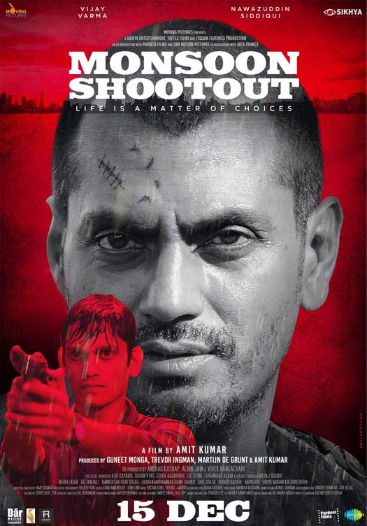 Monsoon Shootout (2017) First Look Poster