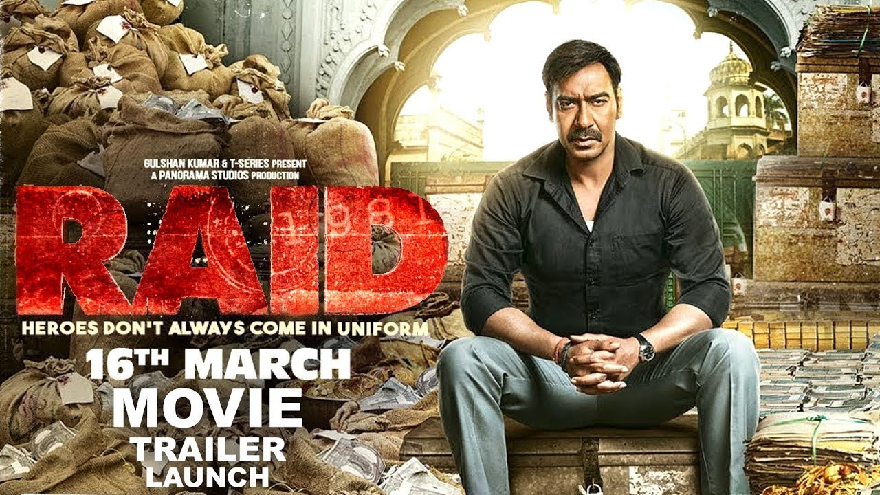 Raid (2018) First Look Poster