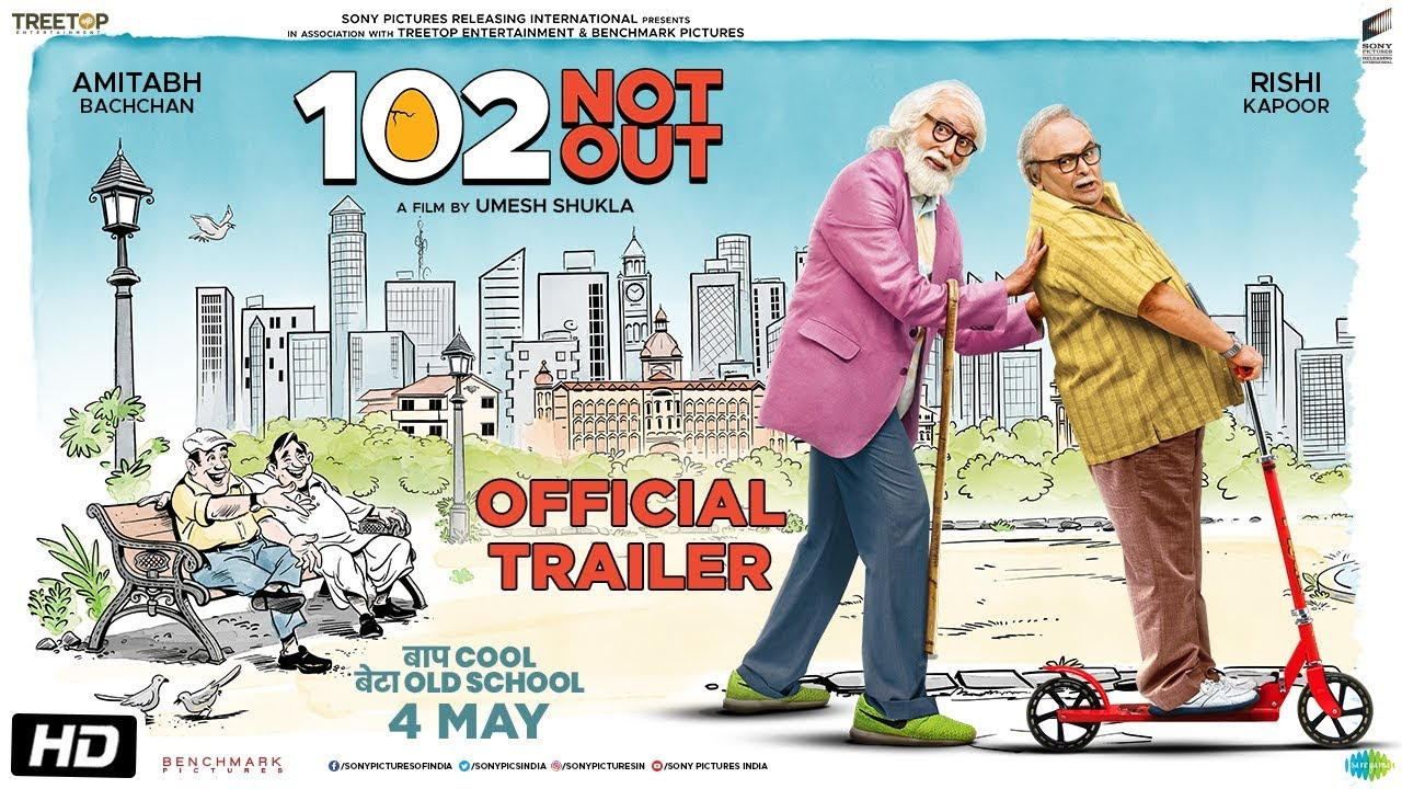 102 Not Out (2018) First Look Poster