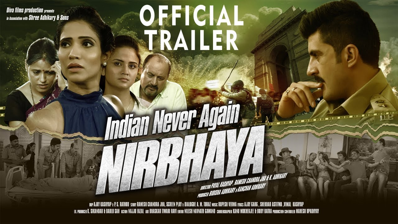 Indian Never Again Nirbhaya (2018) First Look Poster