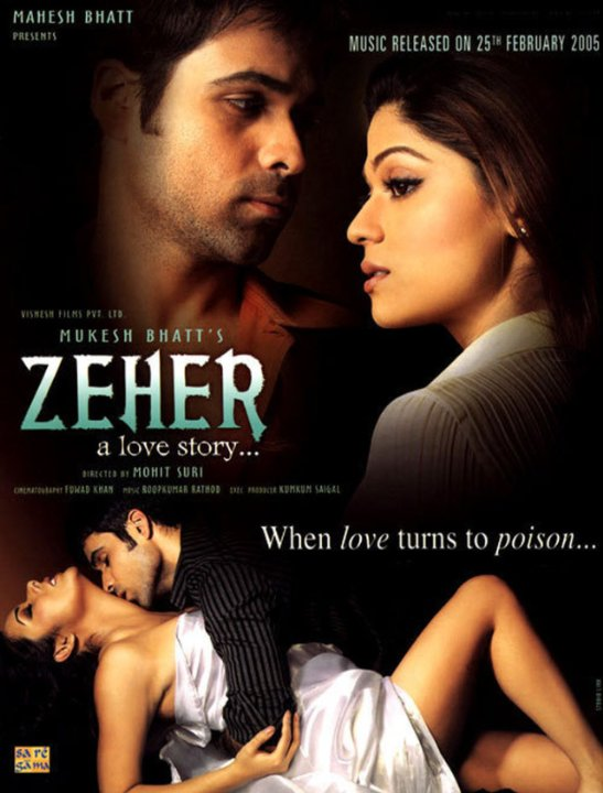 Zeher - A Love Story Movie Poster