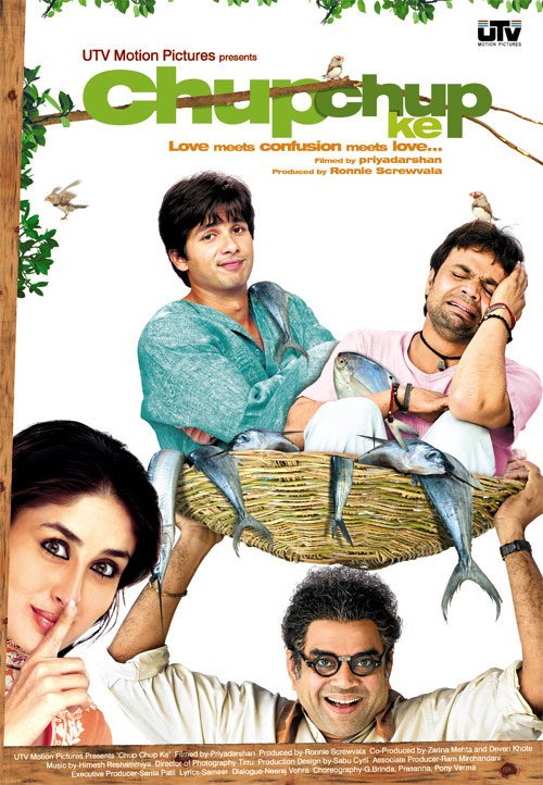 Chup Chup Ke Movie Poster