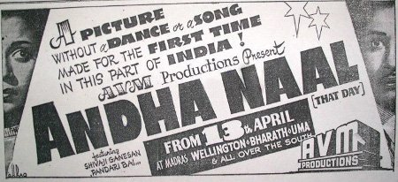 Andha Naal Movie Poster