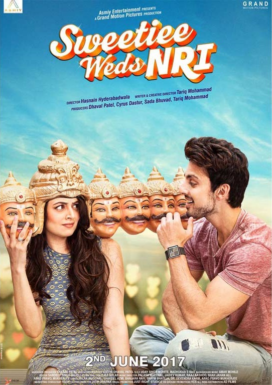 Sweetiee Weds NRI (2017) First Look Poster