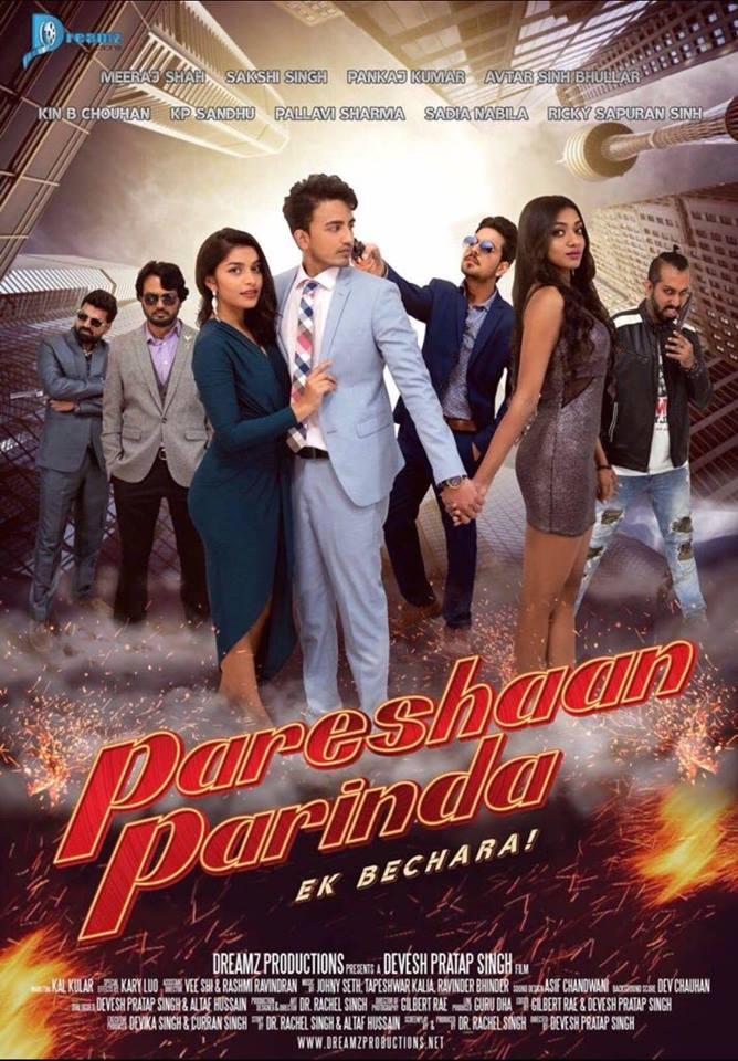 Pareshaan Parinda (2018) First Look Poster