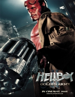 Hellboy II: The Golden Army Movie Poster