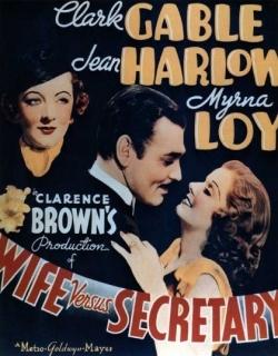 Wife vs. Secretary Movie Poster