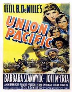 Union Pacific Movie Poster