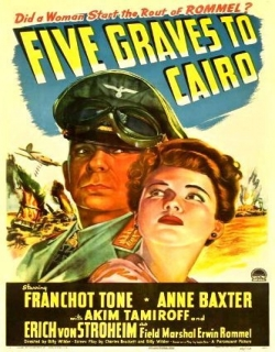 Five Graves to Cairo Movie Poster
