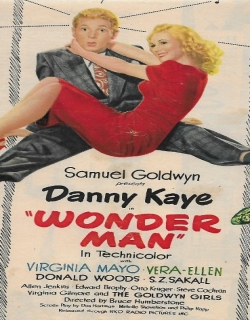 Wonder Man Movie Poster