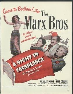 A Night in Casablanca Movie Poster