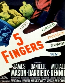 5 Fingers Movie Poster