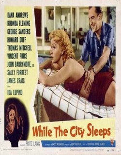 While the City Sleeps Movie Poster