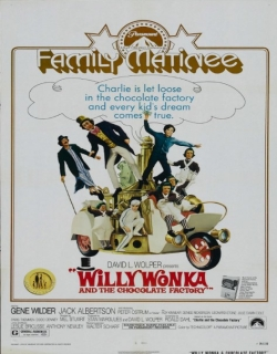 Willy Wonka & the Chocolate Factory Movie Poster
