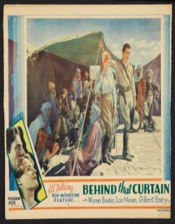 Behind That Curtain (1929) - English