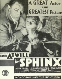 The Sphinx (1933) - English