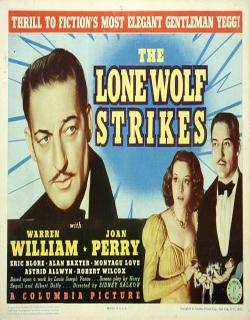 The Lone Wolf Strikes (1940) - English