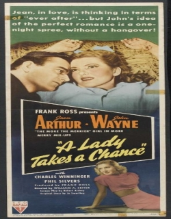 A Lady Takes a Chance (1943)